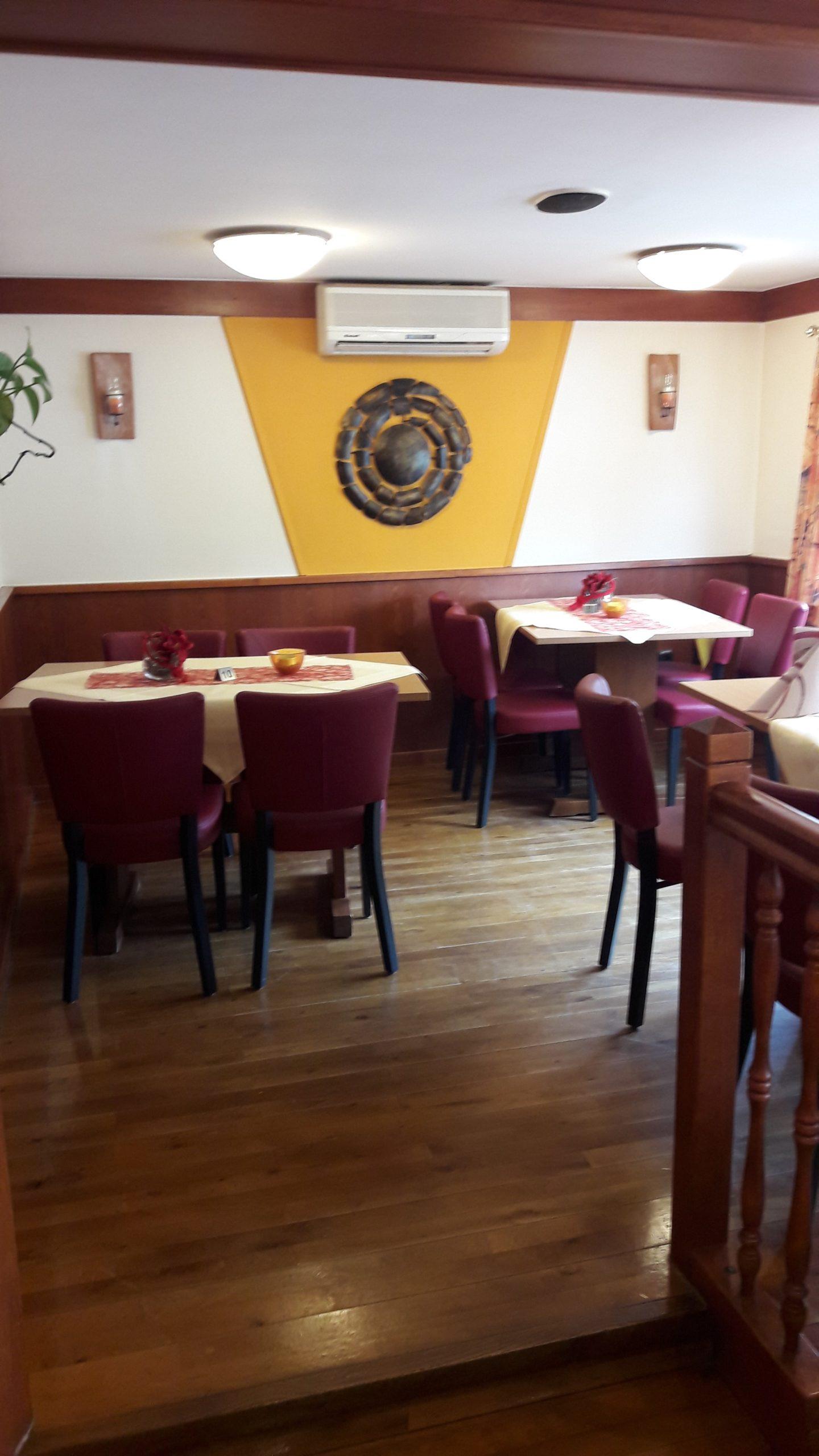 Zum Burghof Romrod Restaurant Vorne 1